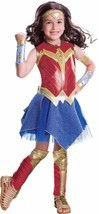 Rubies Deluxe Wonder Woman DC Comics Kids Childs Girls Halloween Costume... - $36.99