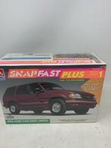 1996 SNAPFAST FORD EXPLORER LIMITED AMT/ERTL 1:25 SEALED PLASTIC MODEL KIT - $24.18