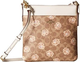 COACH Women's Messenger Crossbody in Coated Canvas Signature with Print ... - £101.68 GBP