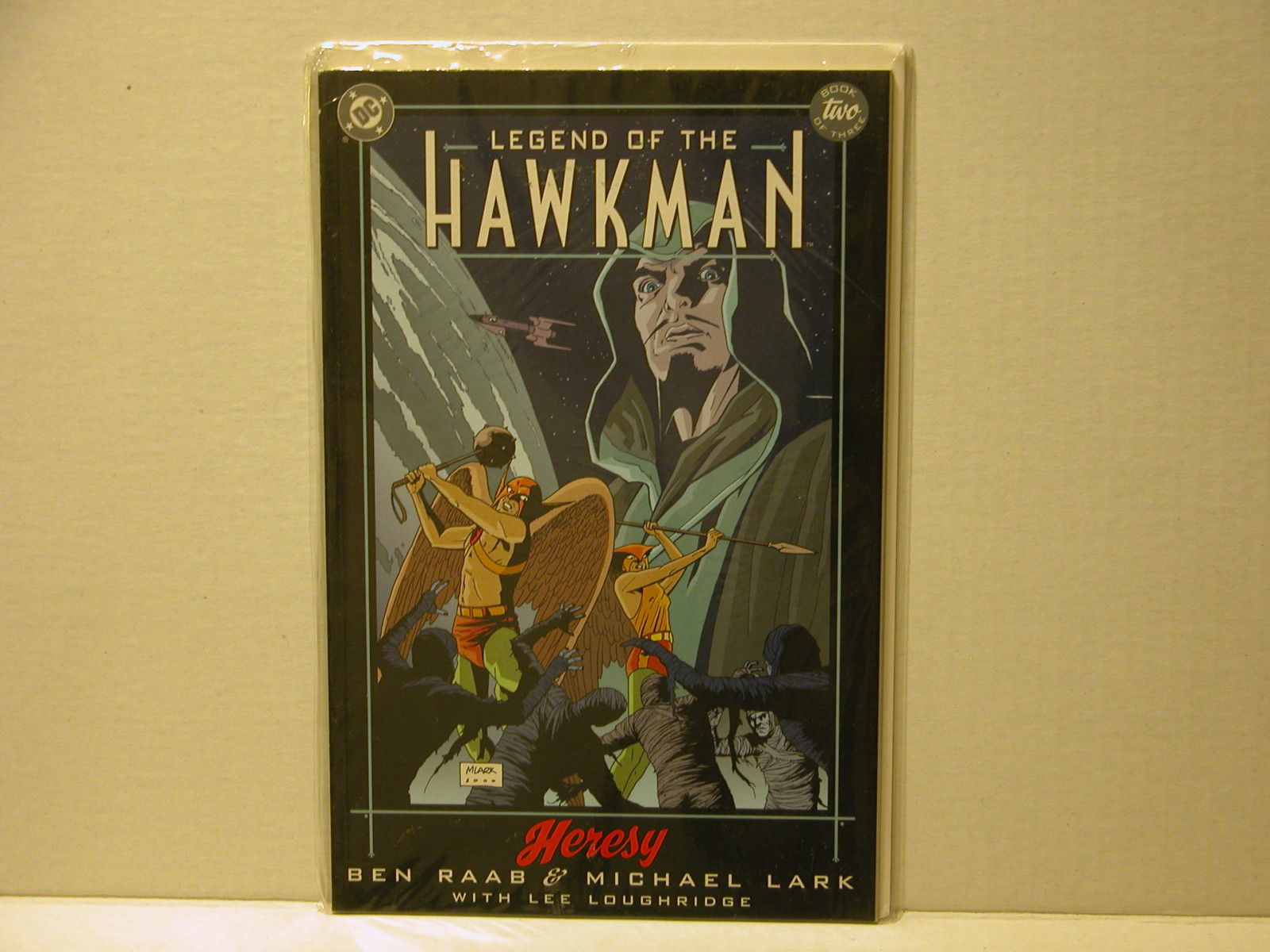 LEGEND OF THE HAWKMAN - HERESY - BOOK 2 - FREE SHIPPING