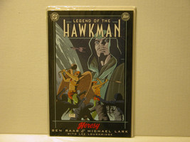 LEGEND OF THE HAWKMAN - HERESY - BOOK 2 - FREE SHIPPING - $9.50