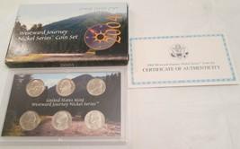 Westward Journey 2004 2005 U.S. Mint Nickel Series Coin sets with COA & Box - $15.90