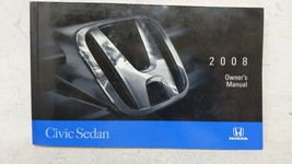 2008 Honda Civic Owners Manual 53562 - $66.17