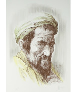 """Yemenite Man"" by William Weintraub Signed Artist's Proof AP Hand Colore... - $132.34"