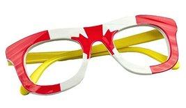 Cute Kids Eyeglasses Glasses Frame Canada Flag Party Decorative Glasses Frame