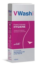 VWash Plus Intimate Hygiene Wash - 100 ml Feminine care and hygiene Tea ... - $11.30