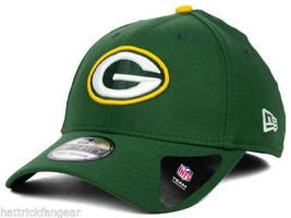 Green Bay PACKERS- New Era 39THIRTY Classic Nfl Team Logo Football CAP/HAT - M/L - $18.99