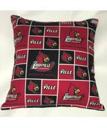 Louisville University Pillow The Ville Pillow Football Pillow NCAA HANDM... - $9.99