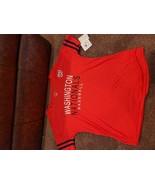 Womens MLB Poly T-Shirt Washington Nationals Campus Lifestyle XS - $14.50