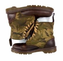 """Dr Martens """"Wilder"""" Doc Unisex Camo Camouflage Combat Boots UK 6 7M / 8L - £48.76 GBP"""