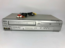 Sanyo DVW-7200 DVD Player / VCR Combo 4 Head Hi-Fi - Tested & Works - RC... - $74.79
