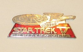 Star Trek V: The Final Frontier Enterprise NCC-1701-A Cloisonne Metal Pi... - $9.74