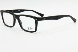 NEW RAY-BAN RB5287 2000 BLACK EYEGLASSES FRAME RB 5287 RX 52-18 W/ CLOTH... - $105.91