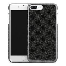 Casestry | Dark Black Silver Spider Web Pattern | iPhone 7 Plus Case - $11.99
