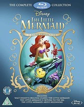 Disney The Little Mermaid Complete Collection [Blu-ray] [UK Import]