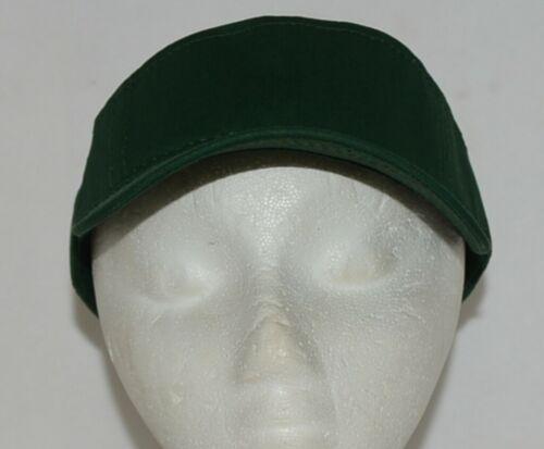 Augusta Sportswear Adult Adjustable Dark Green Sport Twill Visor 6225