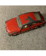 Matchbox Lesney no. 67a VW 1600 TL Red  Silver Wheels Black Tires made i... - $15.83