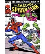 OFFICIAL MARVEL INDEX TO AMAZING SPIDER-MAN #7 NM! - $1.50