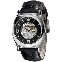 Emporio Armani Ar4633 Gents Automatic Strap Watch - $255.59