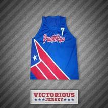 Carlos Arroyo 7 Puerto Rico Blue Basketball Jersey - $45.99