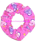 Care Bears Hair Scrunchie Fabric Scrunchies by Sherry Ties Ponytail Hold... - $6.99+