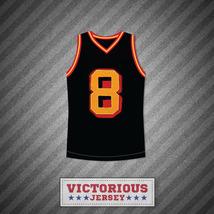 Smallville Clark Kent 8 Black Basketball Jersey Stitch Sewn - $45.99