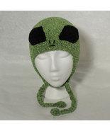 Alien Hat w/Ties for Children - Novelty Hats - Large - $16.00