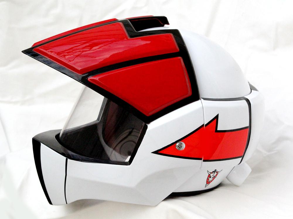 Masei 911 Macross Xcross Red White Motorcycle Helmet