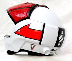 Masei 911 Macross Xcross Red White Motorcycle Helmet image 4
