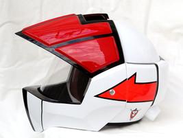 Masei 911 Macross Xcross Red White Motorcycle Helmet image 2