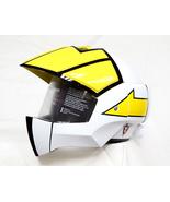 Masei 911 Macross Xcross White Yellow Motorcycle Helmet - $499.00