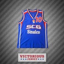 Marko Jaric 10 Serbia and Montenegro Basketball Jersey Stitch Sewn - $45.99