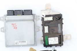 2010 Infiniti G37 Convertible ECU BCM Ignition Keyless Entry Fob Combo Set  image 6