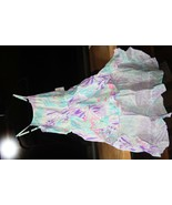 Kids Clothing (new) ROMPER - SURF CITY TIEDYE, MAXI SKIRT WALK-THRU  L (10/12) - $41.57
