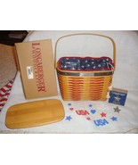 Longaberger Whistle Stop Collectors Club Basket Set  - $49.99