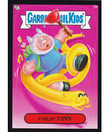 2014 GARBAGE PAIL KIDS 1ST SERIES Black Border Sticker -FAILIN'FINN- #2b - $0.99