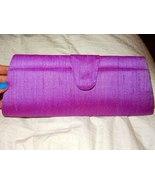 Women's Cambodian Silk Purple Lilac Wallet Clutch Purse - $16.99
