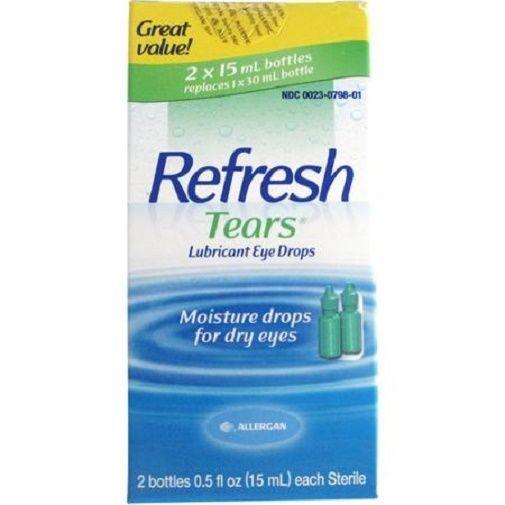 Refresh Lubricant Eye Drops Value Size Refresh Tears