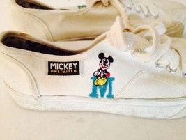 Mickey Mouse Unlimited Canvas Shoes girls women... - $19.80