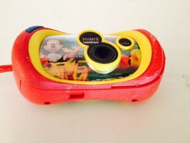 MICKEY MOUSE CAMERA COLLECTIBLE RED YELLOW DISNEY - $23.87