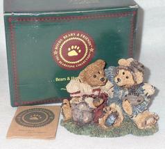 Boyd Bearstone Resin Bears Grenville & Knute Football Buddies Figurine #2255 image 3