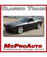 2012 Dodge Challenger Side Classic Graphics Stripes Decals 3M Pro Vinyl 4CT - $144.99