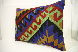Kilim Pillows | 23x16 | Lumbar pillows | 1472 | Turkish pillows , throw ... - $63.00