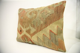 Kilim Pillows | 18x14 | Lumbar pillows | 1459 | Turkish pillows , throw ... - $49.00