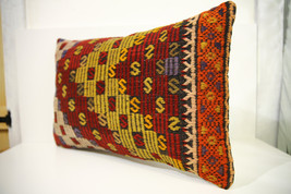Kilim Pillows | 24x16 | Lumbar pillows | 1477 | Turkish pillows , throw ... - $56.00