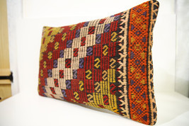 Kilim Pillows | 24x16 | Lumbar pillows | 1481 | Turkish pillows , throw ... - $56.00