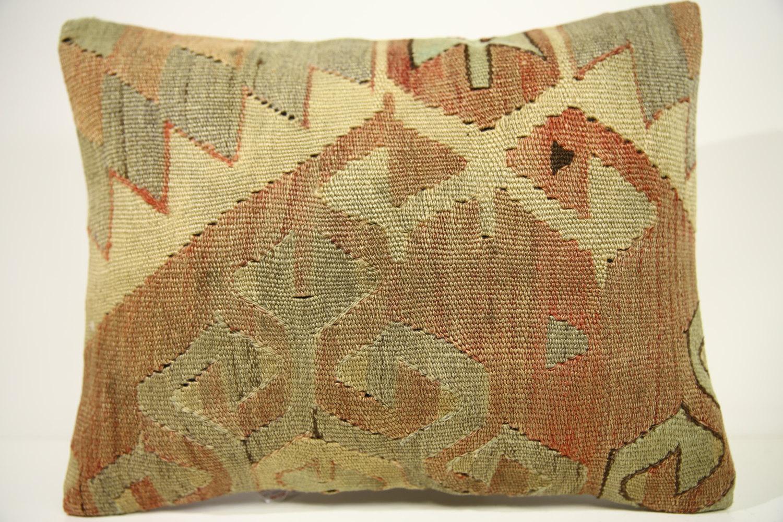 Kilim Pillows | 18x14 | Lumbar pillows | 1459 | Turkish pillows , throw pillows