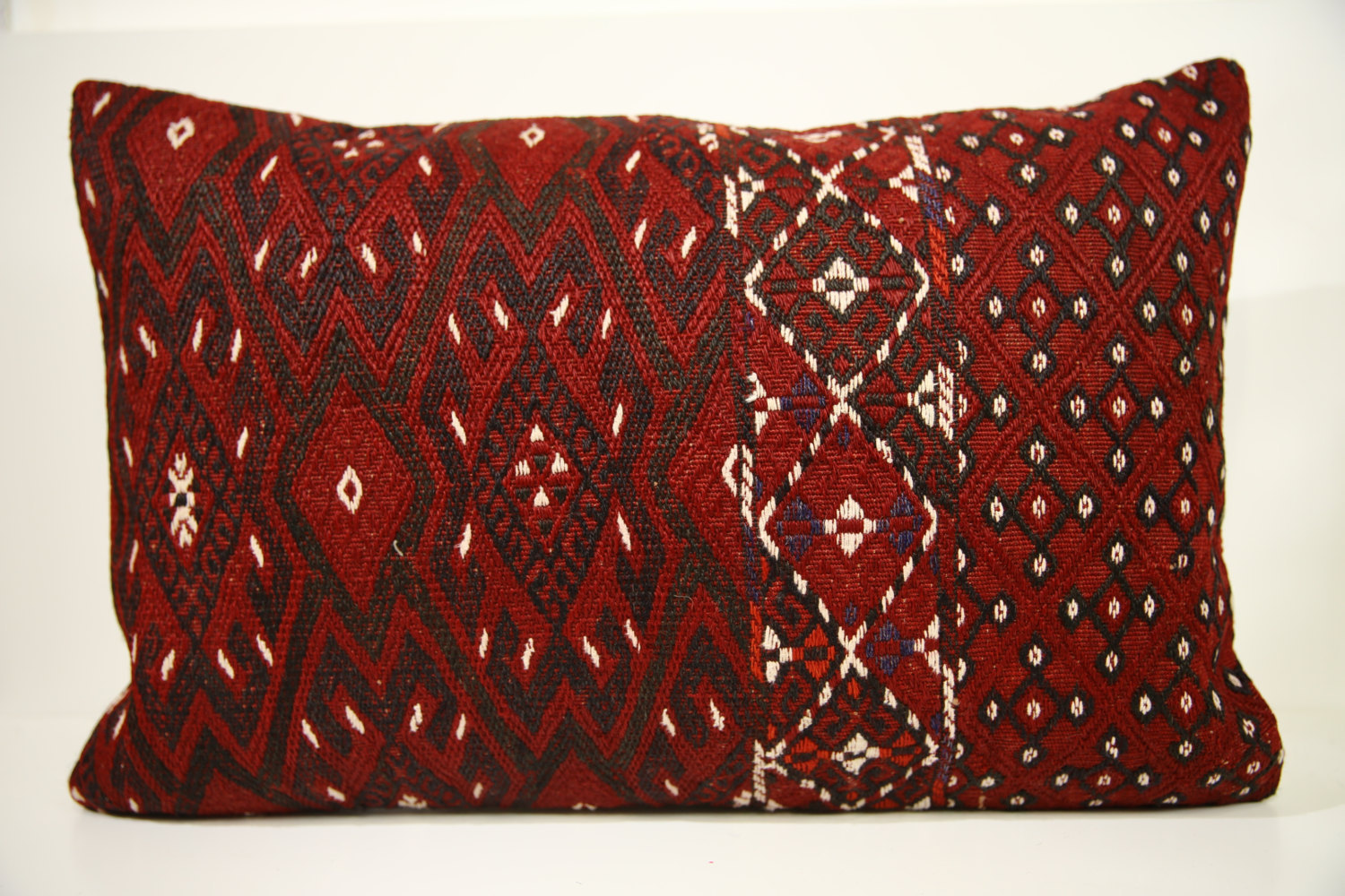 Decorative Pillows Kilim : Kilim Pillows 24x16 Lumbar pillows 1468 Turkish pillows , throw pillows - Pillows
