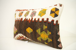 Kilim Pillows | 18x12 | Lumbar pillows | 1444 | Turkish pillows , throw ... - $49.00