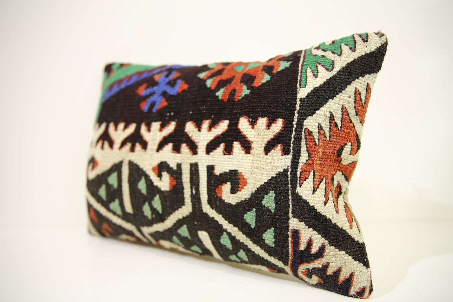 Kilim Pillows | 17x12 | Lumbar pillows | 1439 | Turkish pillows , throw pillows
